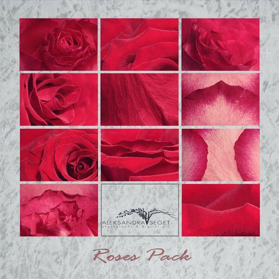 Roses digital paper pack,roses textures, digital background, rose, digital scrapbooking, texture pack, digital download,jpeg