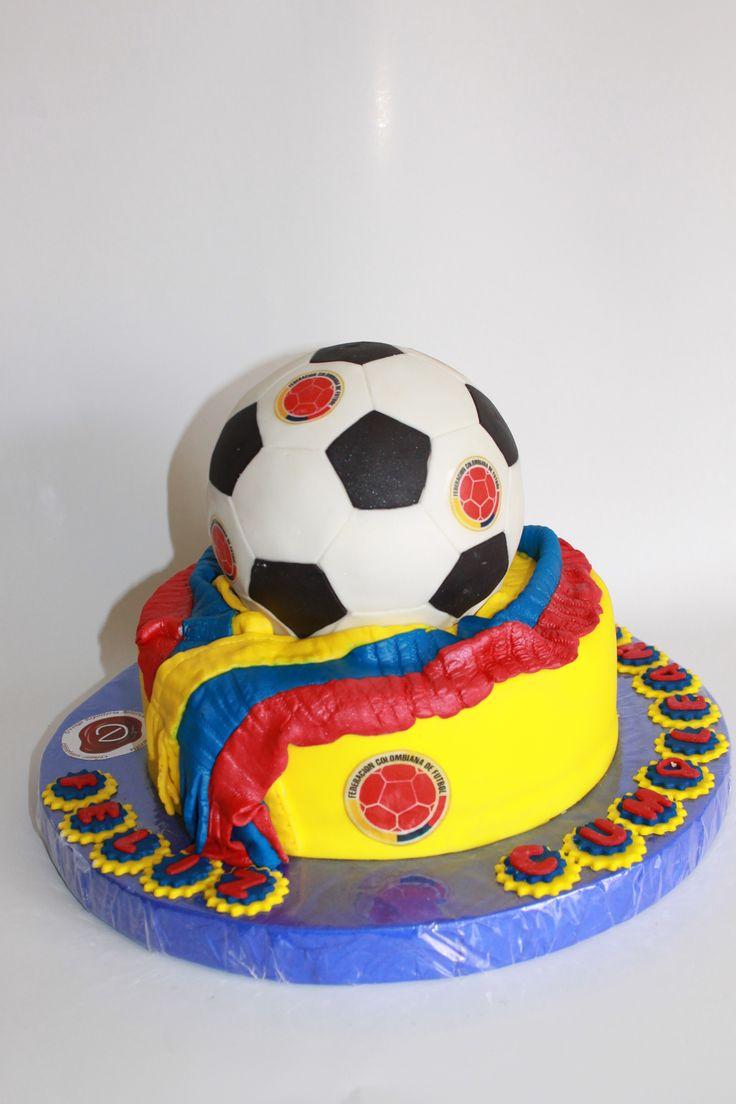 Torta Selección Colombia 100% Comestible.