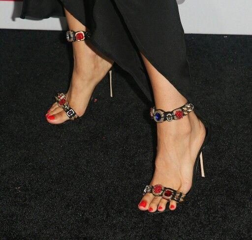 Cleopatra Coleman  #CuteFeetAppreciationDay  #cleopatracoleman #NSE #NailSoleEntity #manipedi #pedi #pedicure #redtoes #rednails #rednailpolish #red #nailart #nailpolish #naildesigns #heels #shoes #footwear #women #ladies #girls #cutefeet #celebrityfeet #cutetoes #opentoe #opentoeheels #opentoeshoes