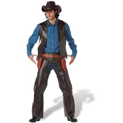 Old West Gun Slinger Costume Adult www.grabevery.com