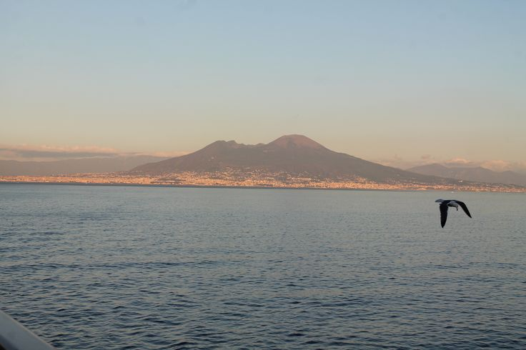 golfo di Napoli, Vesuvio.