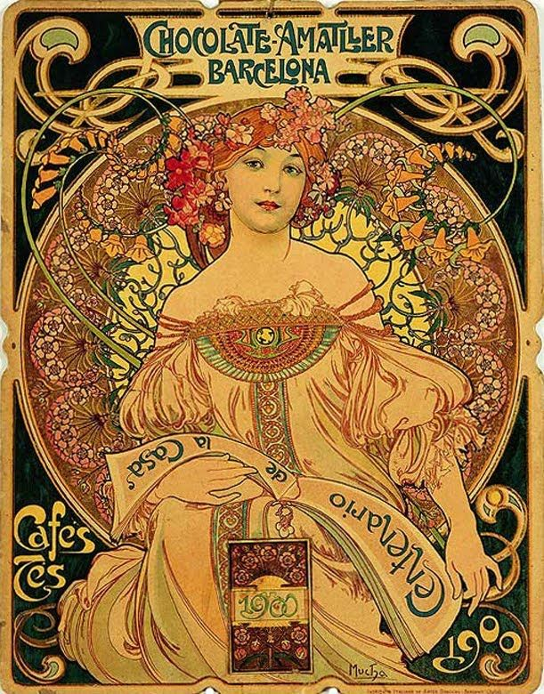 Best 25 art nouveau illustration ideas on pinterest art for Estilo modernista caracteristicas