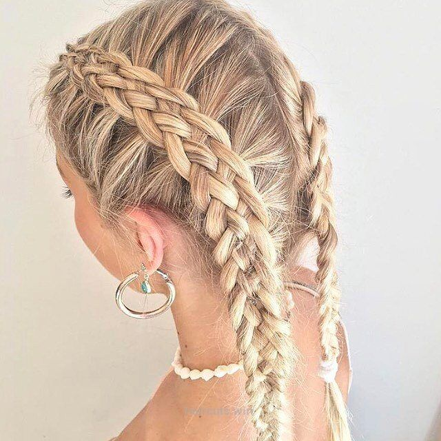Perfect 5 strand braid by @hairbylaura__…  Perfect 5 strand braid by @hairbylaura__     Source
