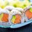 Alaska roll sushi