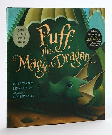 Another great find on #zulily! Puff, the Magic Dragon Hardcover & CD by Sterling #zulilyfinds