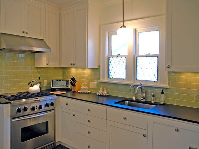 green subway tile kitchen 17 best ideas about green subway tile on glass 4041