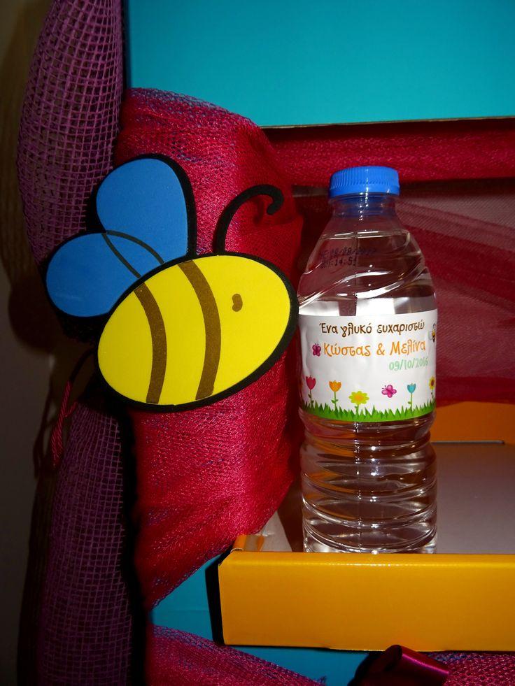 Αυτοκόλλητα για μπουκάλια νερού