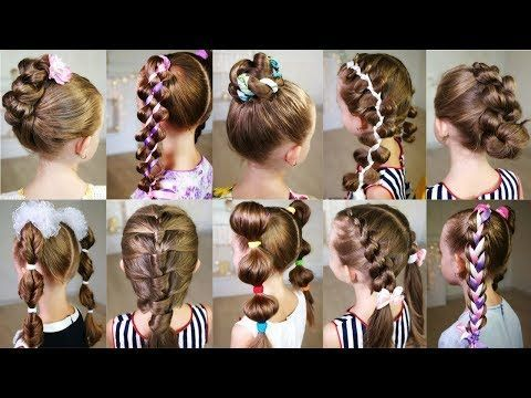 (3) 10 coiffures mignonnes de 3 minutes pour une matinée bien remplie! Coiffures rapides et faciles pour