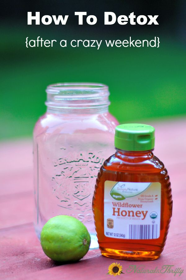 How to Detox After a Crazy Weekend (#3 is Absolutely Necessary!) - Natural ThriftyNatural Thrifty