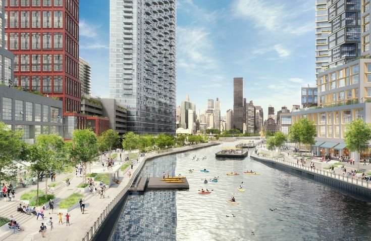 The plastics company, Plaxall, announced on Tuesday a massive rezoning proposal to allow for a mixed-use district in Anable Basin, the area surrounding a 149-year-old inlet located in Long Island City.