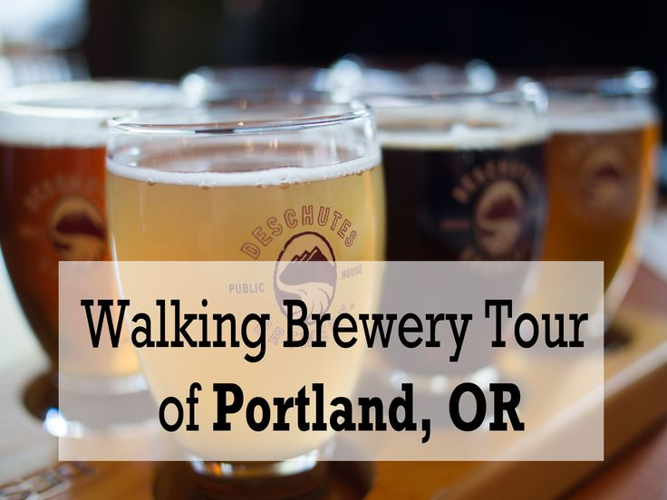 Walking tour of all the breweries in NW Portland.