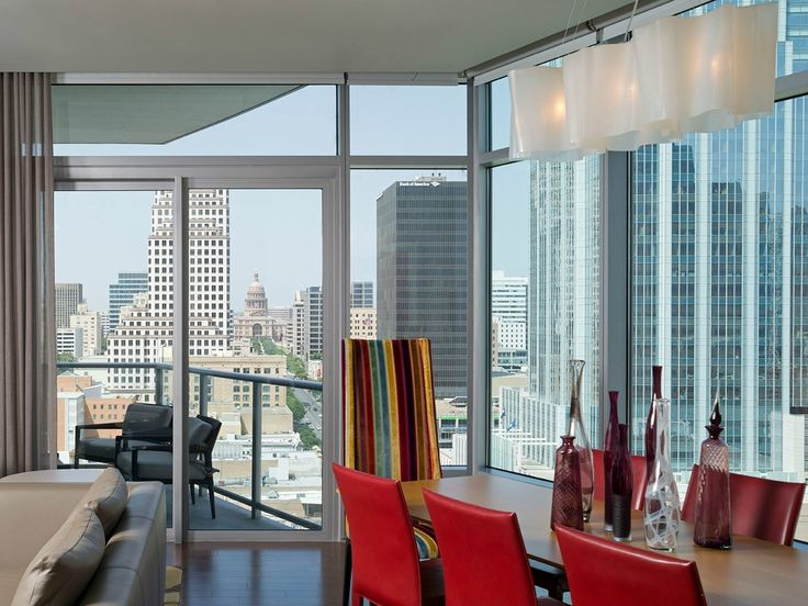 Modern Art And Elegance Are The Main Events Of This Sophisticated High Rise In Heart Downtown Austin Designed B Robin Colton Studio