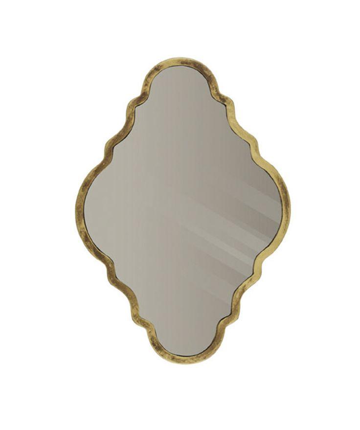 Mirror mirrow on the wall.. gouden spiegel bij Atelier 20.