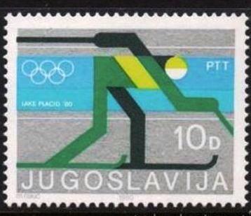 Jugoslavia-Olimpíadas de Invierno Lake Placid 1980-Esqui