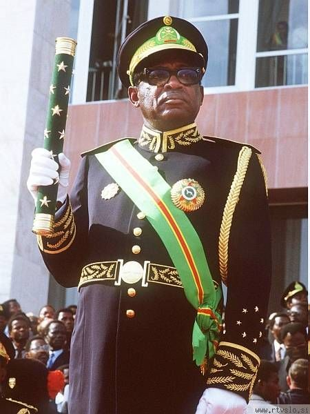 "Mobutu Sese Seko - President of Zaire, seizure power in a military coup and renames the country Republic of Zaire (Belgian Congo) and himself Mobutu Sese Seko (Joseph-Desiré Mobutu) Infamous for looting his country to the tune of billions of US dollars, has been described as the ""archetypal African dictator."""
