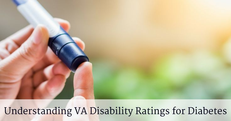 Understanding VA Disability Ratings for Diabetes