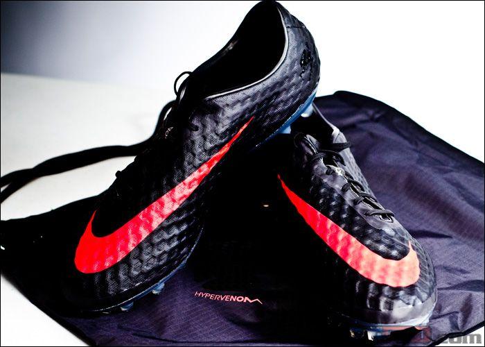 Nike Hypervenom Phantom FG Soccer Cleats - Dark Charcoal with Crimson...$202.49