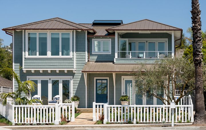 17 best images about curb appeal on pinterest house for Craftsman beach house