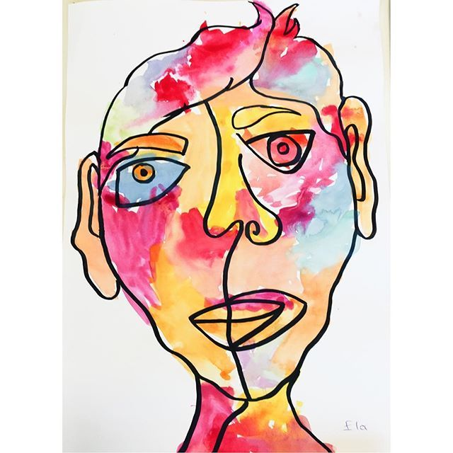 👧🏻 My little student Ela. She is 5 and so talented 👼🏻 . . . . #art #artwork #artist #artofdrawing #artistic #artistsofinstagram #artgallery #artofinstagram #arts #artstudio #artlovers #draw #drawing #drawsomething #draws #drawingart #drawingpencil #drawingpen #drawart #çizim #atölye #atolyekafasi #meril #littlestudent #mystudent #suluboya #watercolor #ela #merilinatölyesi