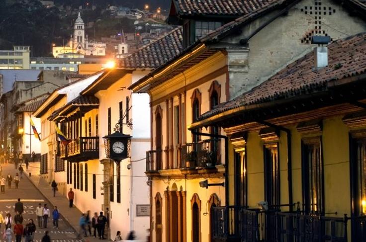 La Candelaria Bogota, Colombia