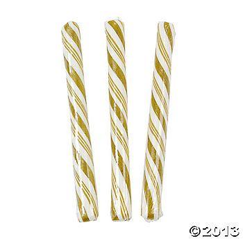 Gold Candy Sticks $4.99 for 80 sticks