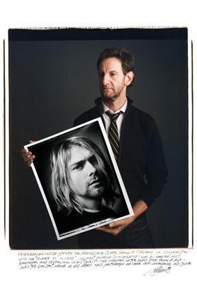 Mark Seliger. Kurt Cobain. Kalamazoo, Michigan, EE. UU. 1993.. Foto: Tim Mantoani