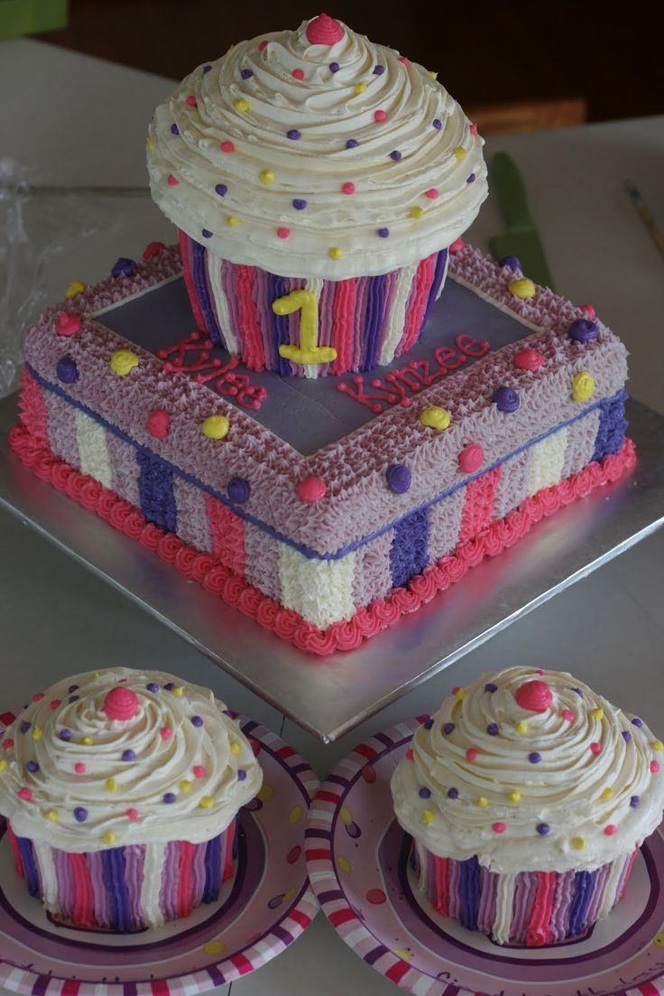 43 Best Images About Cupcake Cakes On Pinterest