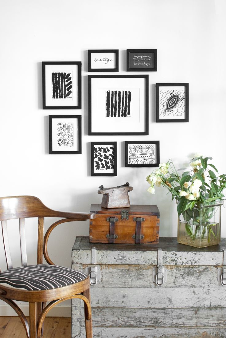 one wall one set of frames multiple looks frames walls interior design euraba artwork corban blair walls of frames pinterest products