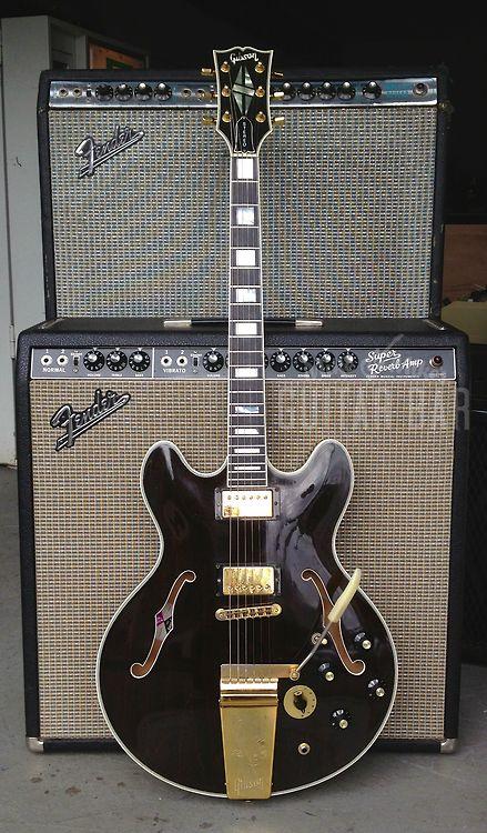1977 Gibson ES-355TDSV - https://www.facebook.com/lewishamiltonband/app_2405167945 www.lewishamiltonmusic.com