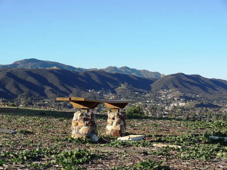 Peace Tranquility And Views At The Conejo Valley Botanic Garden In Thousand Oaks Gardens