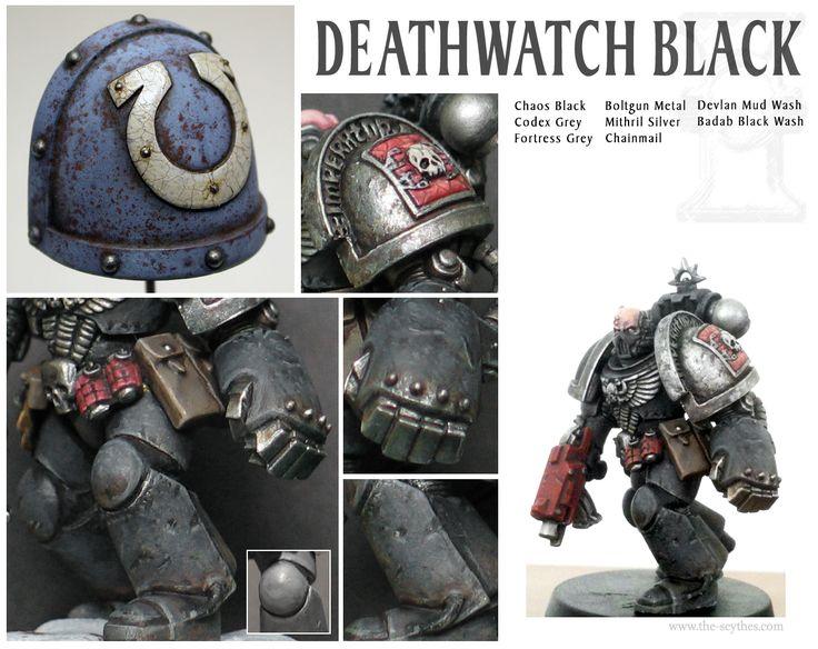 Scythes Deathwatch Marines