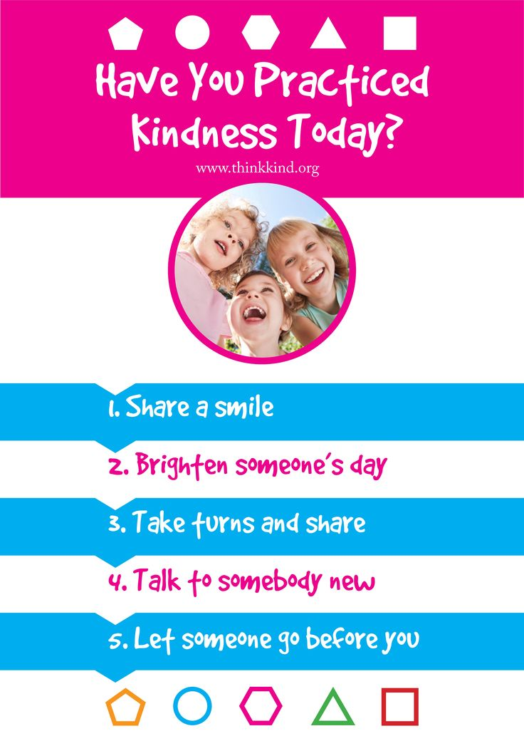 Have you practiced kindness today? Classroom poster. Download the whole set for free: http://www.thinkkind.org/positive-skills-classroom-poster-set/