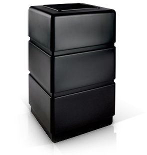 Model DC-732401 | 3 Tier Square Waste Container Open Top