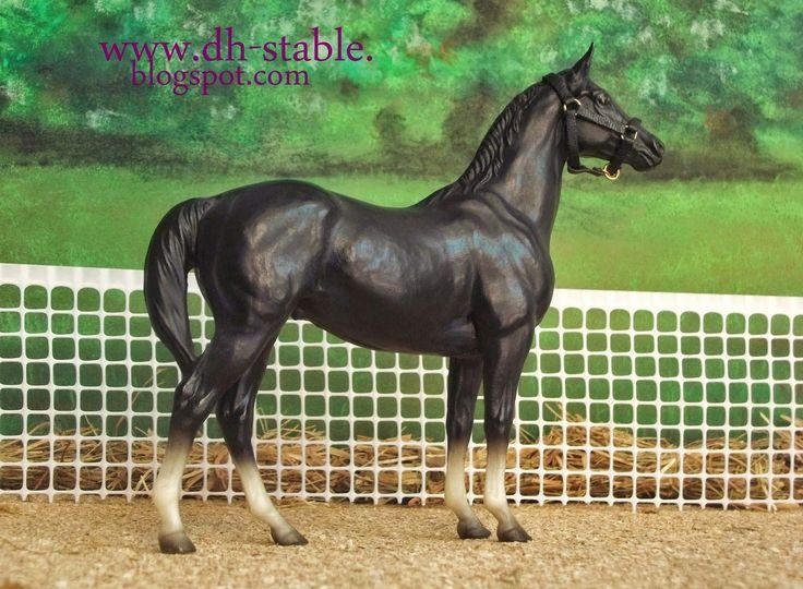MODELLI DI CAVALLI BREYER, COLLECTA, STONE, MODELLINI SCHLEICH - MODEL HORSE - DH STABLE: Cavallo razza PUROSANGUE INGLESE / THOROUGHBRED e THOROUGHBRED HUNTER