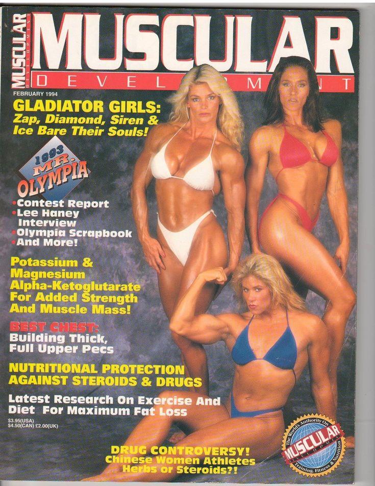 cool MUSCULAR DEVELOPMENT muscle magazine/GLADIATOR GIRLS-Zap Diamond Siren Ice 2-94   Check more at http://harmonisproduction.com/muscular-development-muscle-magazine-gladiator-girls-zap-diamond-siren-ice-2-94/