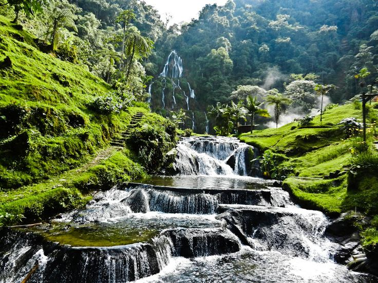 Santa Rosa thermal springs!  - Santa Rosa de Cabal is a small town just north of Pereira