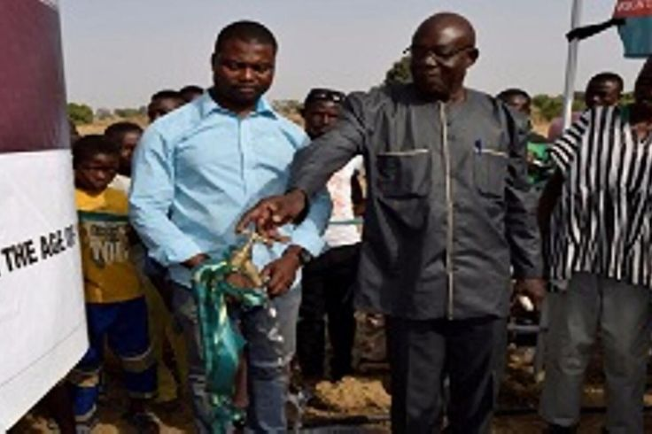 Eagle Lager Builds Irrigation Systems For Farmers In Paga