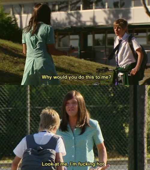 """That time she showed us that confidence is key in any and all situations. 