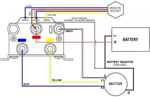 warn atv winch solenoid wiring diagram  winch solenoid