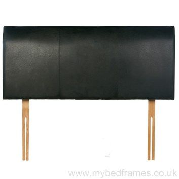 The Mikale Headboard is finished in a faux leather and has a simple rectangular design. The headboard is available in three faux leather finishes consisting of black, brown or white.