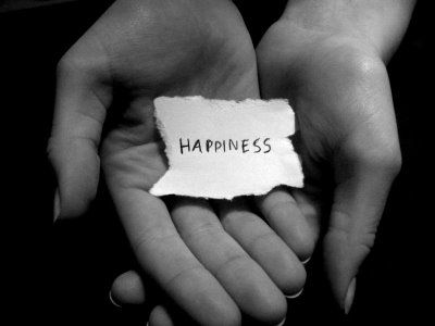 Happiness is in my hands