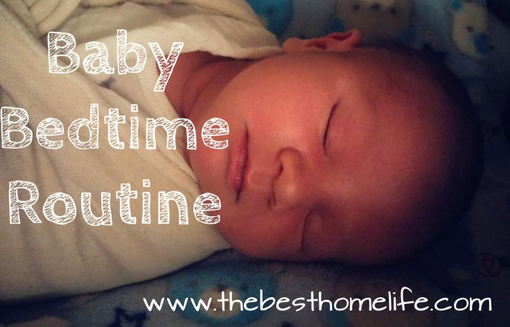This is a routine that got my baby boy sleeping through the night at two months and my baby girl at 1 month!