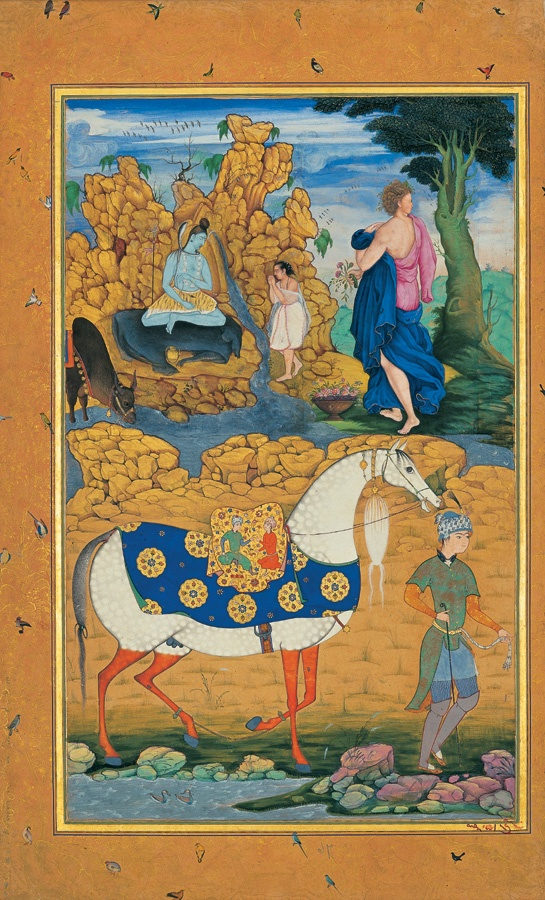 the horse & the groom 17s ~ apparently from a Hindu text