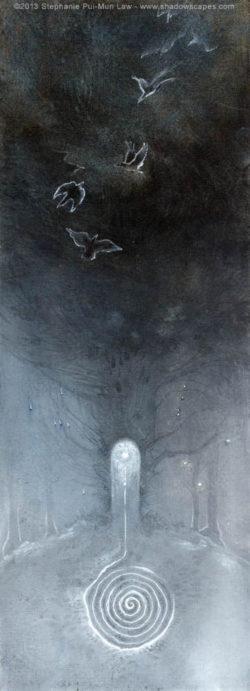 Stephanie Pui-Mun Law - Shadowscapes image brings to mind Longest Night.