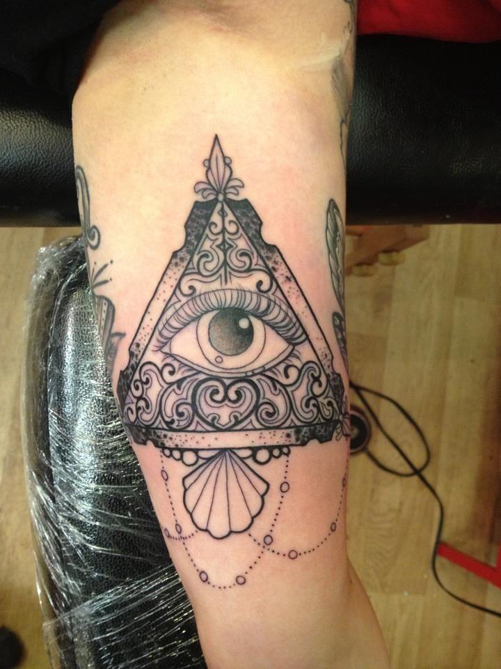 9f77af845 The all-seeing eye!   Tattoo Loving.   All seeing eye tattoo, Eye ...