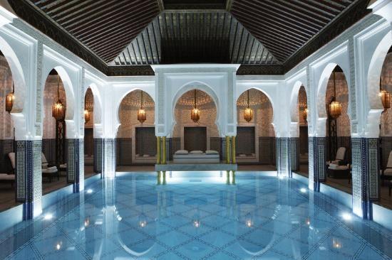 10 piscine coperte incredibili - La Mamounia Marrakech Marrakech, Marocco