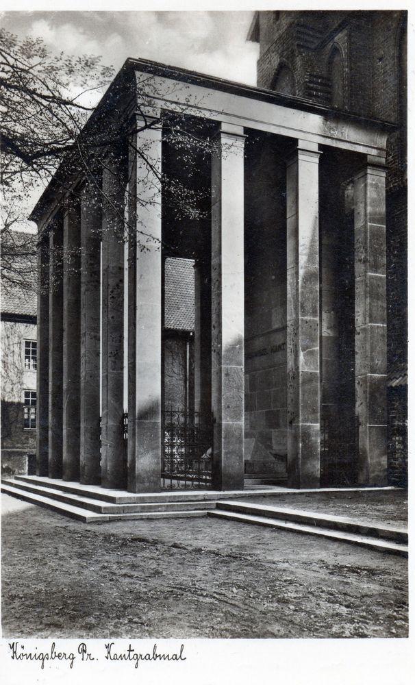 Königsberg Pr. Kantgrabmal  ca.1939