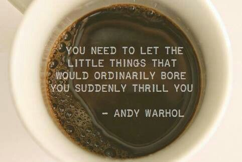 Andy Warhol, another INFP. Possibly my favorite quote of any famous artist