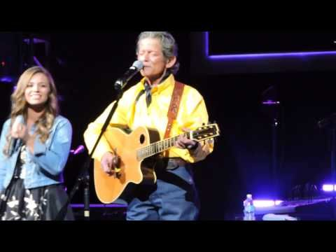 """Johnny Rodriguez """"We Believe In Happy Endings"""" (with daughter Aubry) 10-29-14 - YouTube"""