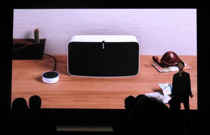Sonos announces Alexa-controlled wireless speakers